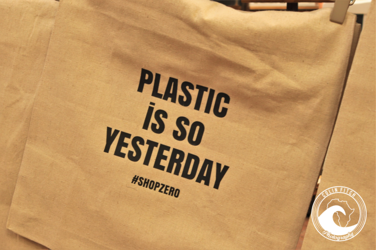 Plastic is so ...... At the Biscut Mill, Cape Town