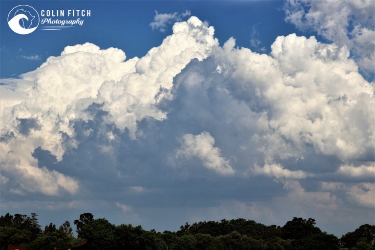 Clouds on the highveld.