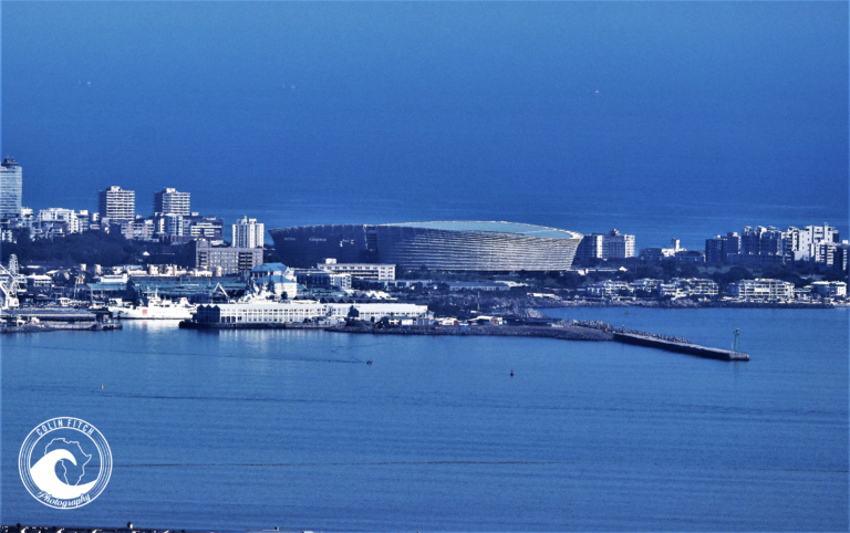 A view of the Cape Town Stadium from Tygerberg Nature Reserve