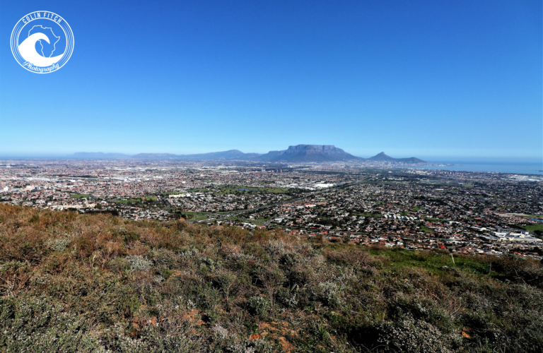 One can only sit in amazement of the wonderful view of Cape Town from the Tygerberg Nature Reserve. God in his glory.