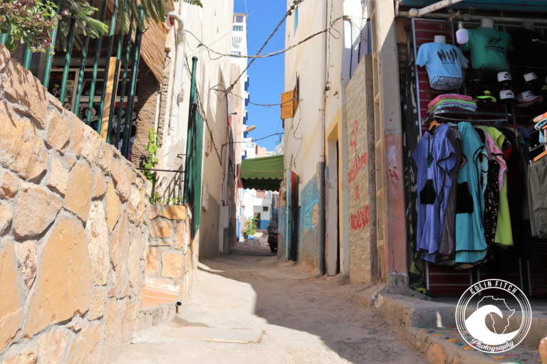 Taghazout Alleyway.