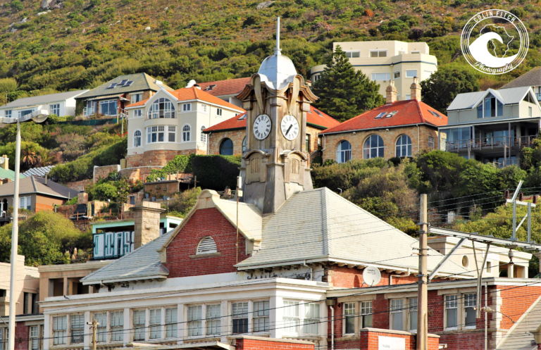 The Railway Station in Muizenberg, Cape Town.