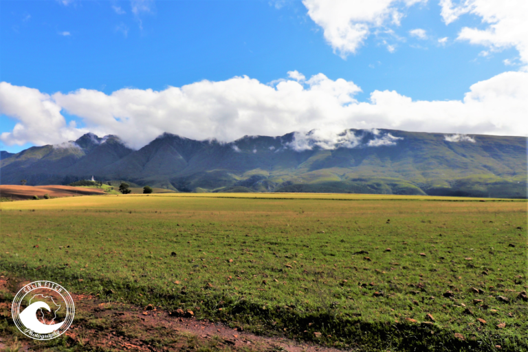 Overberg Mountains and fields, Western Cape.