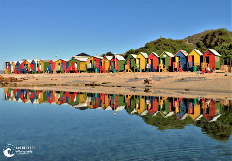 St James Beach, Cape Town, Changing Huts.