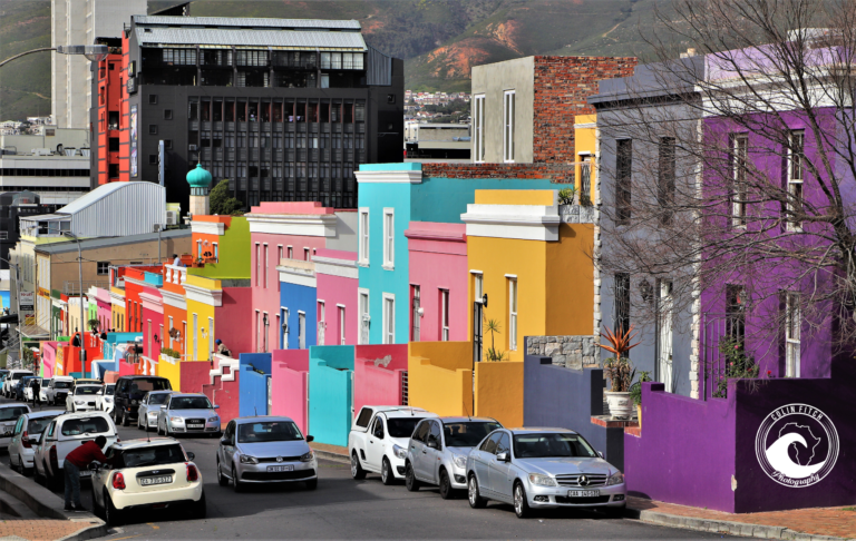 The color of the Bo-Kaap, Cape Town.