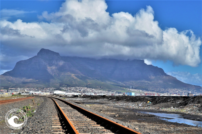 Rusted Tracks into Cape Town.