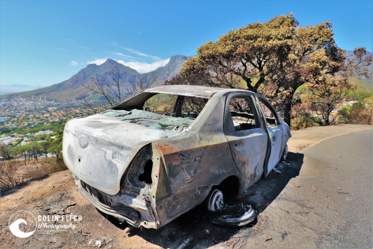 CT8 - Burnt our Car.