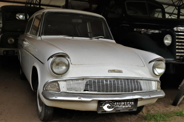 Ford Anglia - Editors first car.