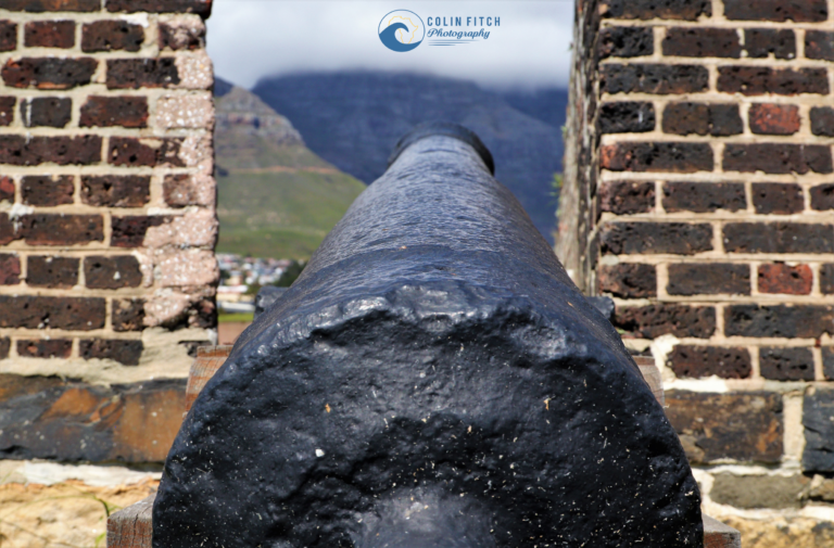 One of many canons that surrounded the Castle of Good Hope
