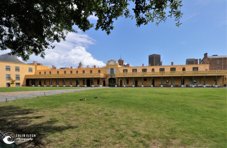 The Castle of Good Hope court yard.