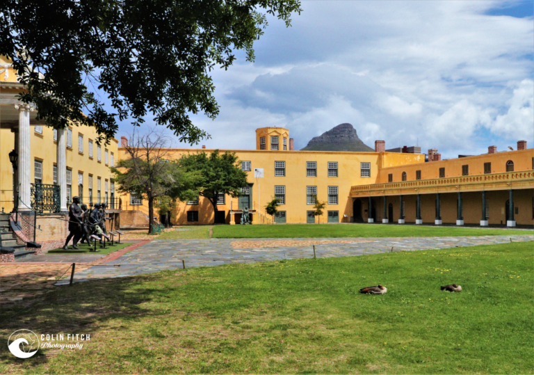 The inner court yard of the Castle of Good Hope - Cape Town