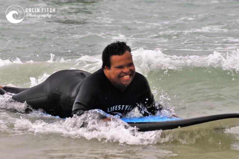 The Nexgen / Shameez Scott Foundation Surfing Day.