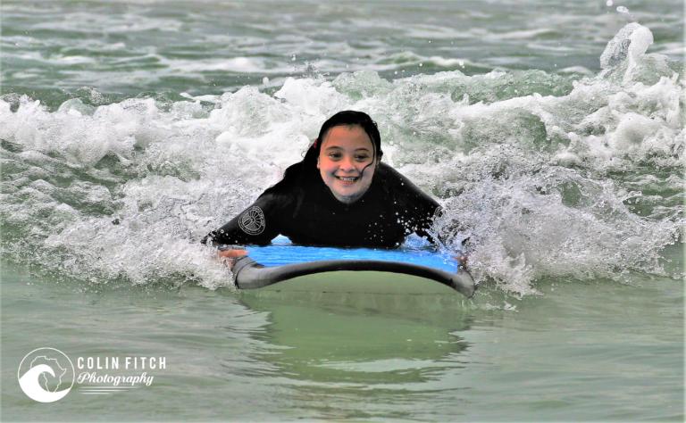 The Nexgen / Shameez Scott Foundation Down Syndrome Surf Day.
