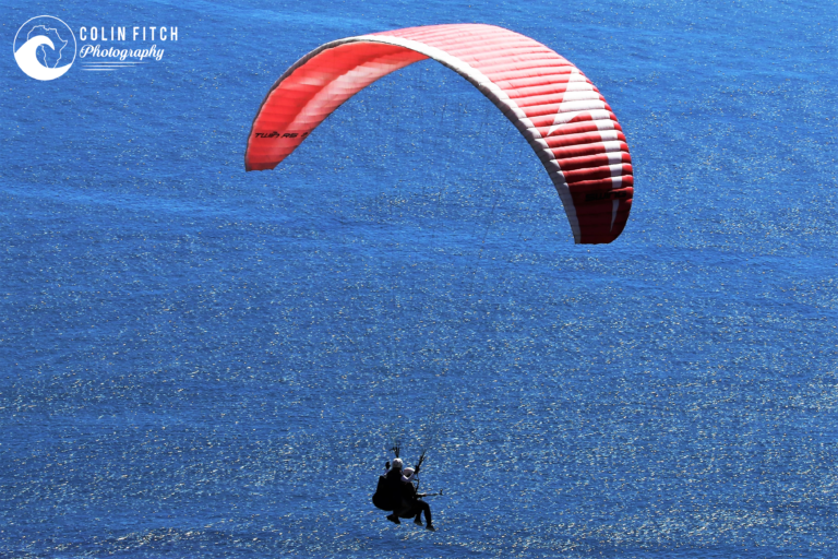 Tandem Paragliding over Cape Town